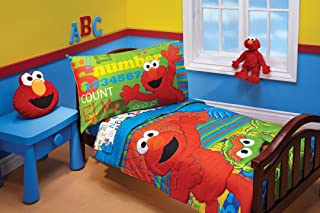 elmo toddler bed set