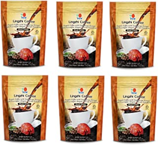 6 Packs DXN Lingzhi Black Coffee with Ganoderma Extract ( Total 120 sachets )