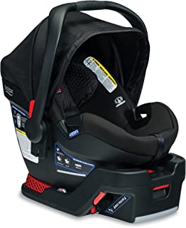 Britax B-Safe Ultra Infant Car Seat - 4 to 35 Pounds - Rear Facing - 2 Layer Impact Protection, Midnight