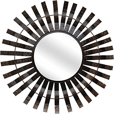 Ruhi Collections Metal Decorative Wall Mirror for Home Décor