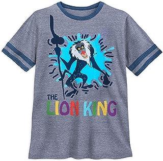 Disney Lion King Simba Pumbaa Timon T-Shirt Uomo