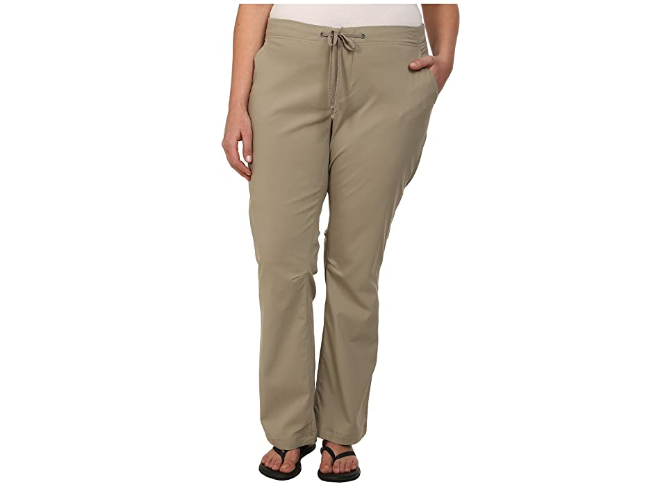 Columbia Plus Size Anytime Outdoortm Boot Cut Pant (Tusk) Women