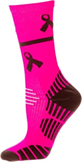 Performance Breast Cancer Awareness Crew Socks