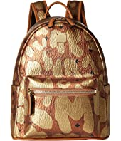 MCM - Stark MCM Leopard Print Backpack Small