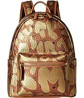 MCM - Stark MCM Leopard Print Backpack Small