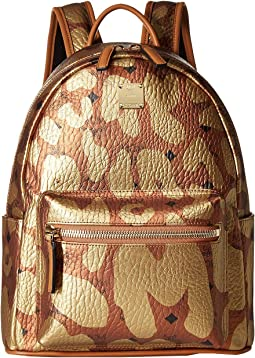 Stark MCM Leopard Print Backpack Small
