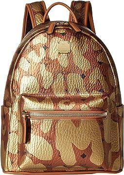 Stark MCM Leopard Print Backpack Small