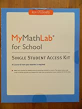 MyMathLab Access Card for School (1-year Access), 1/e