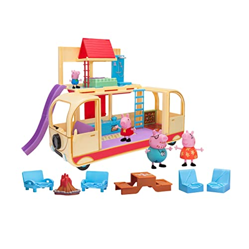 Peppa Pigs Transforming Campervan Feature Playset