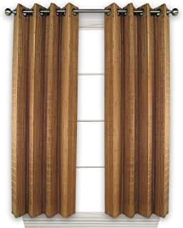 Versailles Home Fashions BPU144263-9 Bamboo Wood Curtain Panel with Grommets, 42