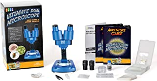 Discover with Dr. Cool Science Lab Over 50 Accessories Dual Microscope