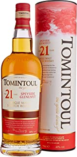 Tomintoul 21 Years Old Single Malt Scotch Whisky mit Geschenkverpackung 1 x 0.7 l