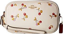 COACH - Cherry Print Crossbody Clutch