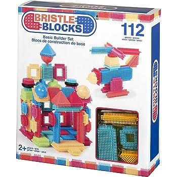 Bristle Blocks by Battat – The Official Bristle Blocks – 112Piece – Creativity Building Toys Dexterity Fine Motricity – Bpa Free 2 Years +