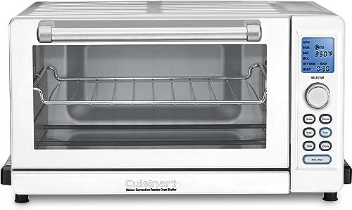 2021 Cuisinart popular TOB-135WN Toaster online sale Oven, White online sale