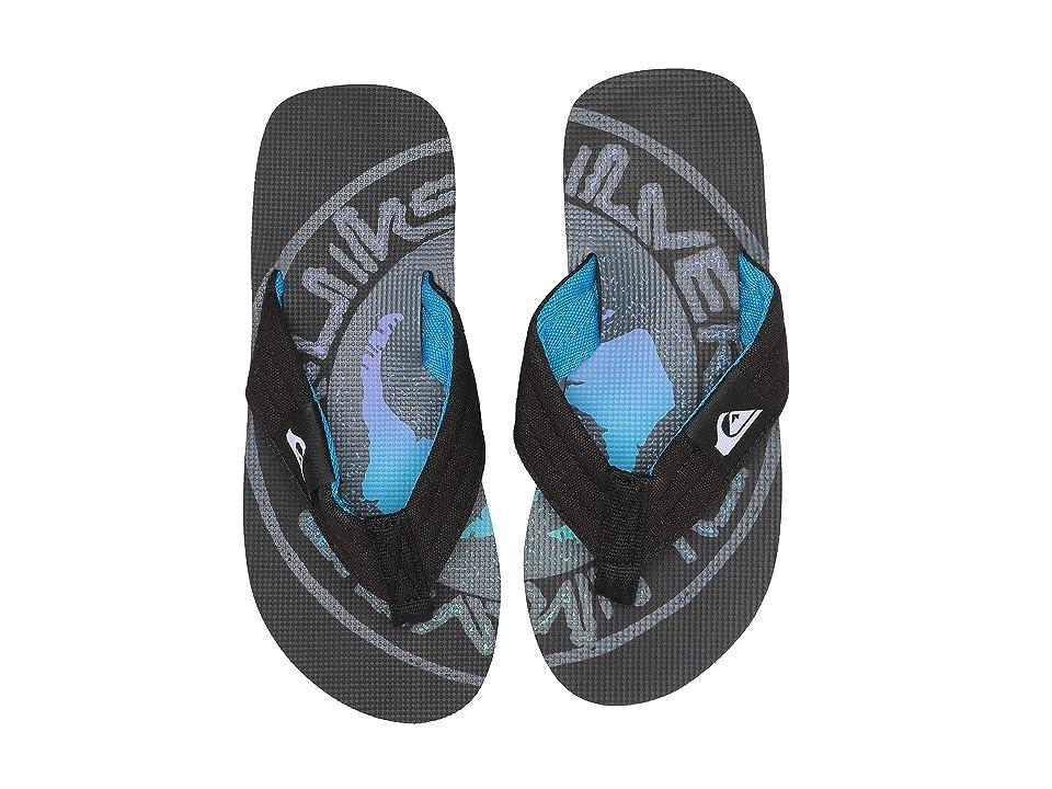 Quiksilver Kids Molokai Layback (Toddler/Little Kid/Big Kid) (Black/Grey/Black) Boys Shoes