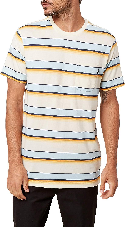 1960s Mens Shirts   60s Mod Shirts, Hippie Shirts ONEILL Mens Short Sleeve Classic Tee Shirt  AT vintagedancer.com