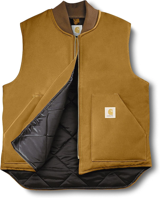 Carhartt Big & Tall Duck Arctic Vest Carhartt Brown 4XL (Reg)