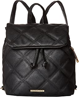 Mini Quilted Drawstring Backpack