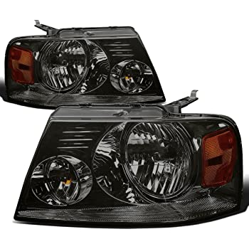 DNAMotoring HL-OH-NTIT08-SM-AM Headlight Assembly Driver and Passenger Side