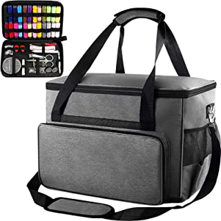 Sewing Machine Case - Universal Travel Tote Bag Contain Sewing Kits Compatible for Singer, Brother, Janome Sewing Machines...