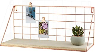 Best rose gold wire shelf Reviews