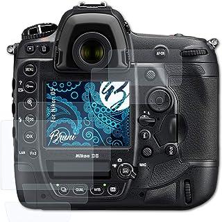 Bruni Schutzfolie kompatibel mit Nikon D5 Folie, glasklare Displayschutzfolie (2er Set)