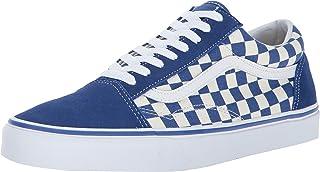 Vans Unisex Old Skool (Primary Check) True Blue/White