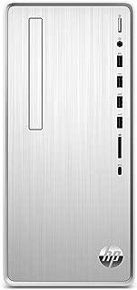 HP Pavilion Desktop Computer, Intel Core i5-9400, 12GB RAM, 1TB Hard Drive, 256 GB SSD, Windows 10 (TP01-0050, Silver)
