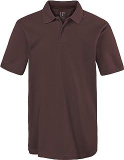 JP 1880 Men's Big & Tall Classic Cotton Pique Polo Shirt 702560