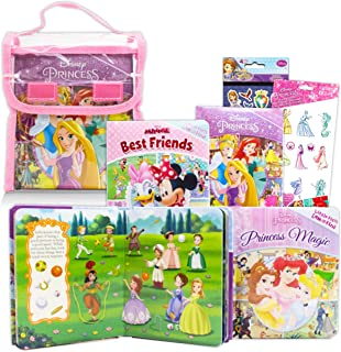 Disney Princess Look and Find Books Bundle Featuring Belle, Cinderella, Minnie, Sofia The First, and More ~ 4 Disney Look ...