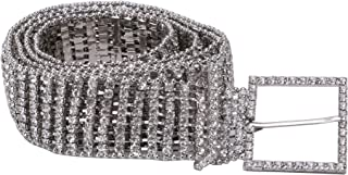 Best silver diamante waist belt Reviews