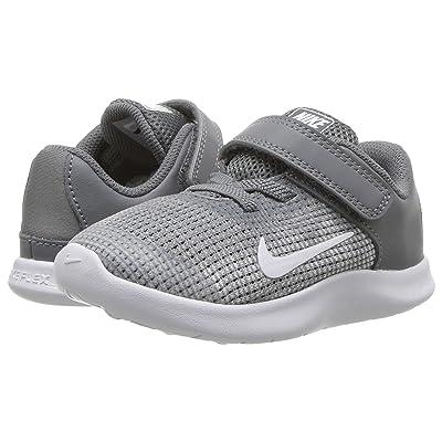 Nike Kids Flex RN 2018 (Infant/Toddler) (Cool Grey/White) Boys Shoes