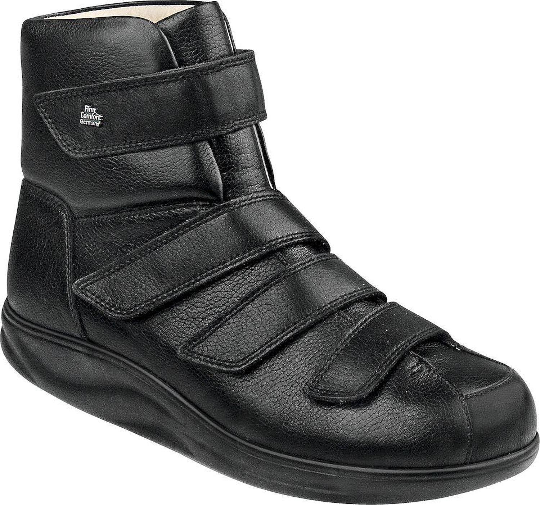 FinnComfort - Prophylaxe Prophylaxe Stiefel mit Klettverschluss 97304 schwarz - Größe 11