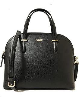Kate Spade Patterson Dirve Carli Leather Top Handle Satchel Crossbody Bag