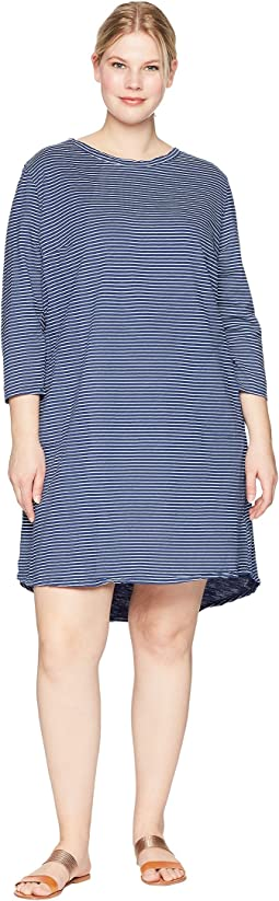 Plus Size Pinstripe Catalina Dress
