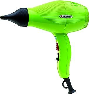 GAMMAPIU' Asciugacapelli Professionale I.E.S Verde, Phon Risparmio Energetico, Consumo Dimezzato, Phon per Capelli Leggero...