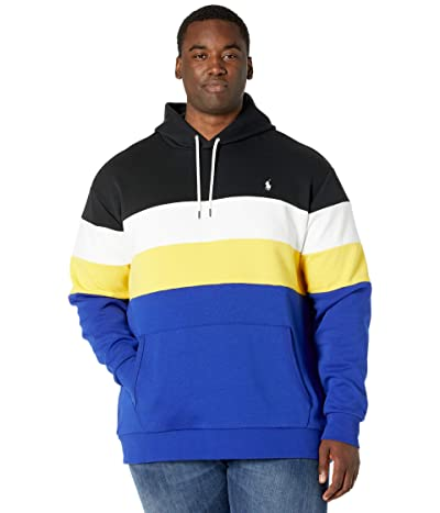 Polo Ralph Lauren Big & Tall Big Tall Color-Blocked Double-Knit Hoodie