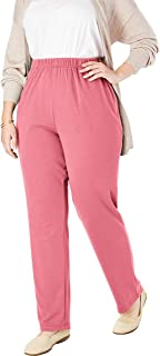 Woman Within Women's Plus Size Petite 7-Day Knit Straight...