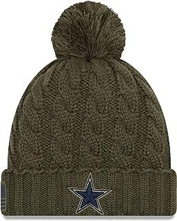 Dallas Cowboys New Era Salute to Service Womens Knit Hat