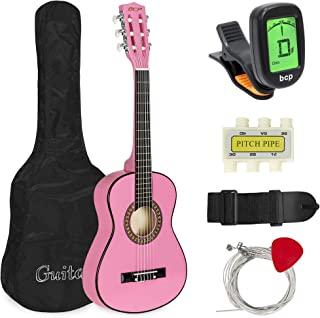 Best Choice Products 30in Kids Classical Acoustic Guitar Beginners Set w/Carry Bag,..