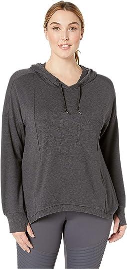 Plus Size Getaway Crop Sweatshirt