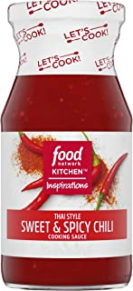 Food Network Kitchen Inspirations Thai Style Sweet & Spicy Chili Cooking Sauce, 15 oz Bottle