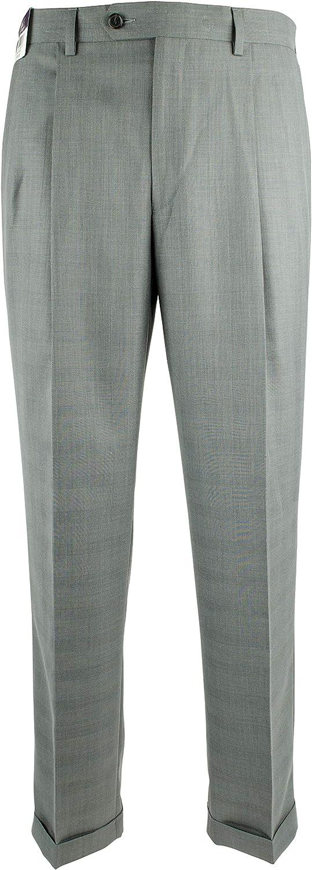 Ralph Lauren Men's Relaxed Fit Hem Tucson Mall Cuffed Pleated Dress Brand new Pants