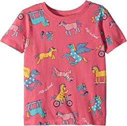 Life is Good Kids - Horseplay Fun Crusher Tee (Toddler)