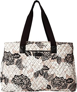 Vera Bradley Women Quilted Signature Cotton Iconic Triple Compartment Bag (Heritage Paisley)