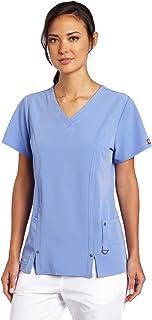 Dickies Women's Scrubs Xtreme Stretch V-Neck Shirt Medical