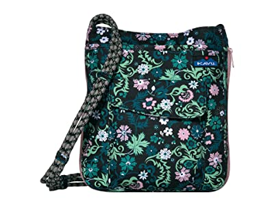 KAVU Sidewinder (Whimsical Meadow) Cross Body Handbags