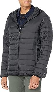 Men's Lightweight Water-Resistant Packable Hooded Puffer...