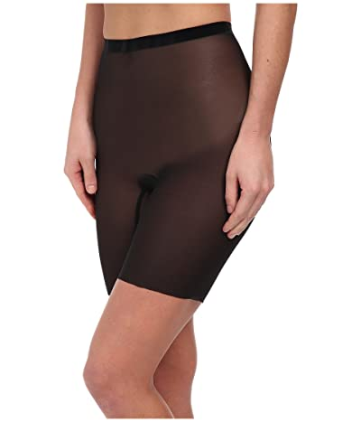 Wolford Tulle Control Shorts (Black) Women